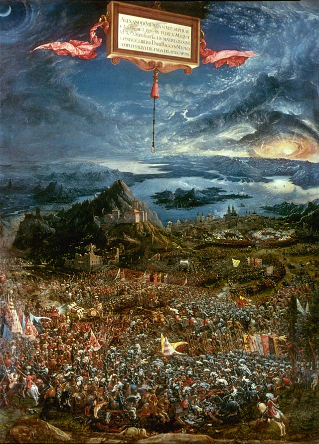 Untitled document for Battle of issus painting